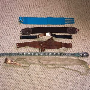 Lot of Women's Belts different Guess Marciano